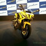 Bajaj Pulsar RS200 live front the launch