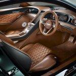 Bentley EXP 10 Speed 6 concept - interior