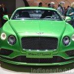 Bentley GT Speed front view at 2015 Geneva Motor Show