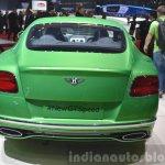 Bentley GT Speed rear view at 2015 Geneva Motor Show