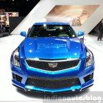 Cadillac ATS-V front at the 2015 Geneva Motor Show