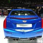 Cadillac ATS-V rear at the 2015 Geneva Motor Show