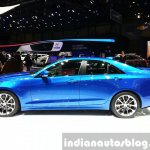 Cadillac ATS-V side at the 2015 Geneva Motor Show