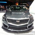 Cadillac CTS-V front at the 2015 Geneva Motor Show