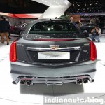 Cadillac CTS-V rear at the 2015 Geneva Motor Show