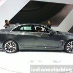 Cadillac CTS-V side at the 2015 Geneva Motor Show
