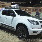 Chevrolet Colorado High Country front three quarter at the 2015 Bangkok Motor Show