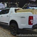 Chevrolet Colorado High Country rear three quarter at the 2015 Bangkok Motor Show