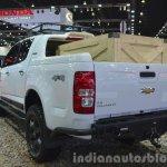 Chevrolet Colorado High Country rear three quarter left at the 2015 Bangkok Motor Show