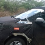Chevrolet Spin hood spied India