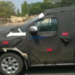 Chevrolet Spin profile spied India