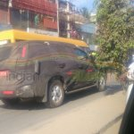 Chevrolet Trailblazer India testing launch in 2015 - spyshot