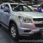 Chevrolet Trailblazer front three quarter at the 2015 Bangkok Motor Show