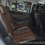 Chevrolet Trailblazer rear seat at the 2015 Bangkok Motor Show