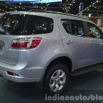 Chevrolet Trailblazer rear three quarter at the 2015 Bangkok Motor Show