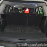 Chevrolet Trailblazer seats folded at the 2015 Bangkok Motor Show