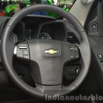 Chevrolet Trailblazer steering wheel at the 2015 Bangkok Motor Show