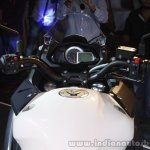 DSK Benelli TNT 600 GT cluster India launched