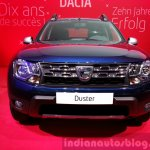 Dacia Duster special edition front at the 2015 Geneva Motor Show