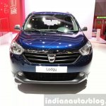 Dacia Lodgy special edition front at the 2015 Geneva Motor Show