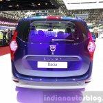 Dacia Lodgy special edition rear at the 2015 Geneva Motor Show