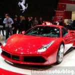 Ferrari 488 GTB at the 2015 Geneva Motor Show