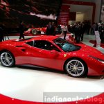 Ferrari 488 GTB displayed at the 2015 Geneva Motor Show