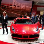 Ferrari 488 GTB front at the 2015 Geneva Motor Show