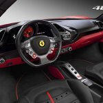 Ferrari 488 GTB interior press image