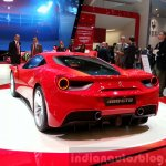 Ferrari 488 GTB rear three quarter angle at the 2015 Geneva Motor Show