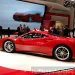 Ferrari 488 GTB rear three quarter at the 2015 Geneva Motor Show