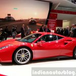 Ferrari 488 GTB side at the 2015 Geneva Motor Show