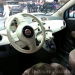 Fiat 500 Vintage '57 dashboard at the 2015 Geneva Motor Show