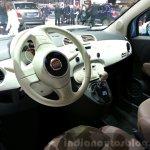 Fiat 500 Vintage '57 dashboard at the 2015 Geneva Motor Show