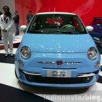 Fiat 500 Vintage '57 front at the 2015 Geneva Motor Show