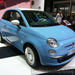 Fiat 500 Vintage '57 front three quarters at the 2015 Geneva Motor Show