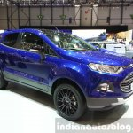 Ford EcoSport S front three quarters at the 2015 Geneva Motor Show