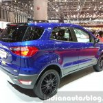 Ford EcoSport S rear three quarters at the 2015 Geneva Motor Show