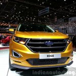 Ford Edge Sport front at the 2015 Geneva Motor Show