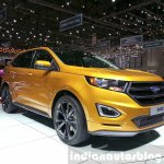 Ford Edge Sport front three quarter at the 2015 Geneva Motor Show