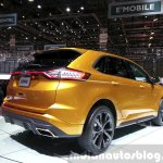 Ford Edge Sport rear three quarter at the 2015 Geneva Motor Show