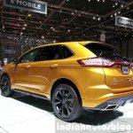 Ford Edge Sport rear three quarter left at the 2015 Geneva Motor Show
