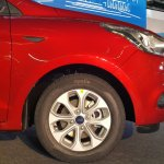 Ford Figo Aspire wheel from the Indian premiere