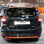 Ford Focus Black Edition rear at the 2015 Geneva Motor Show