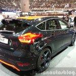 Ford Focus Black Edition rear three quarters at the 2015 Geneva Motor Show