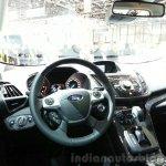 Ford Kuga Titanium X Sport dashboard at the 2015 Geneva Motor Show