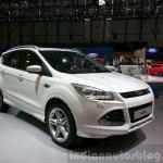 Ford Kuga Titanium X Sport front three quarter at the 2015 Geneva Motor Show