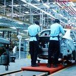 Ford Sanand plant exterior body frame assembly