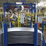 Ford Sanand plant roof loading section