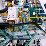 Ford Sanand plant windshield assembly
